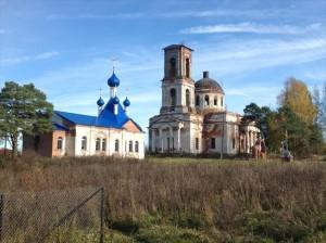 Микшино храм Сретенья Господня и Троицкий собор