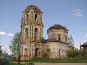 Троицкая церковь, с. Первитино