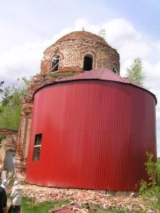Посещение Покровского храма в с. Пиногощи